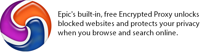 epic privacy browser unlocks blocked websites